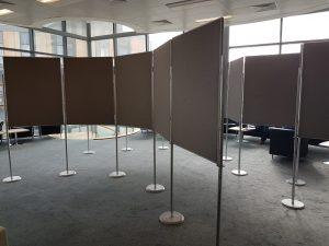 poster board hire panel boards